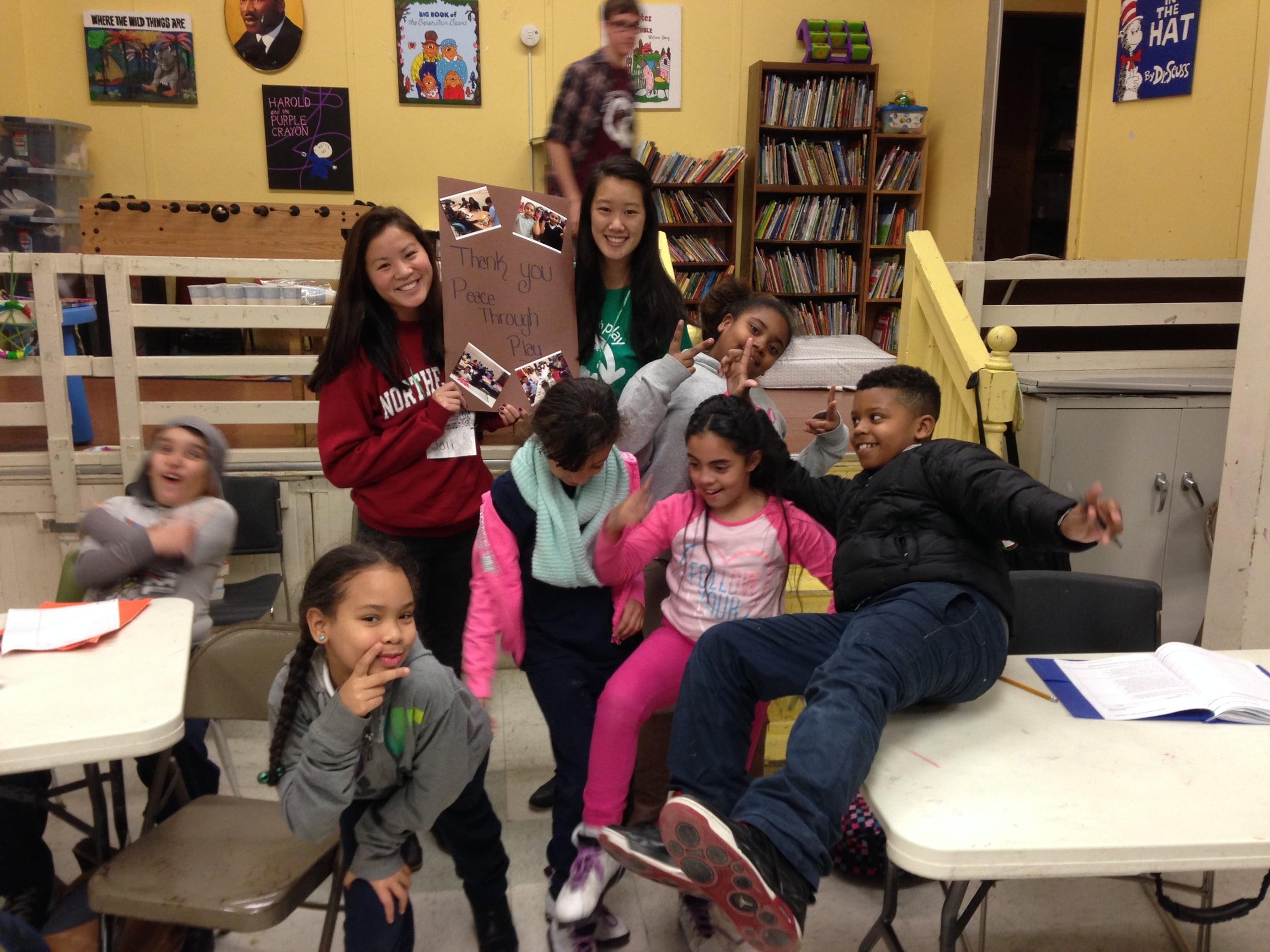 B-Ready students enjoy fun Peace through Play activities!