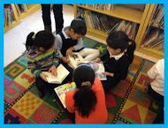 Students learn to love reading together