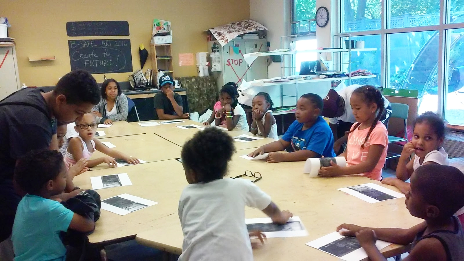 JCITs led programming for elementary schoolers