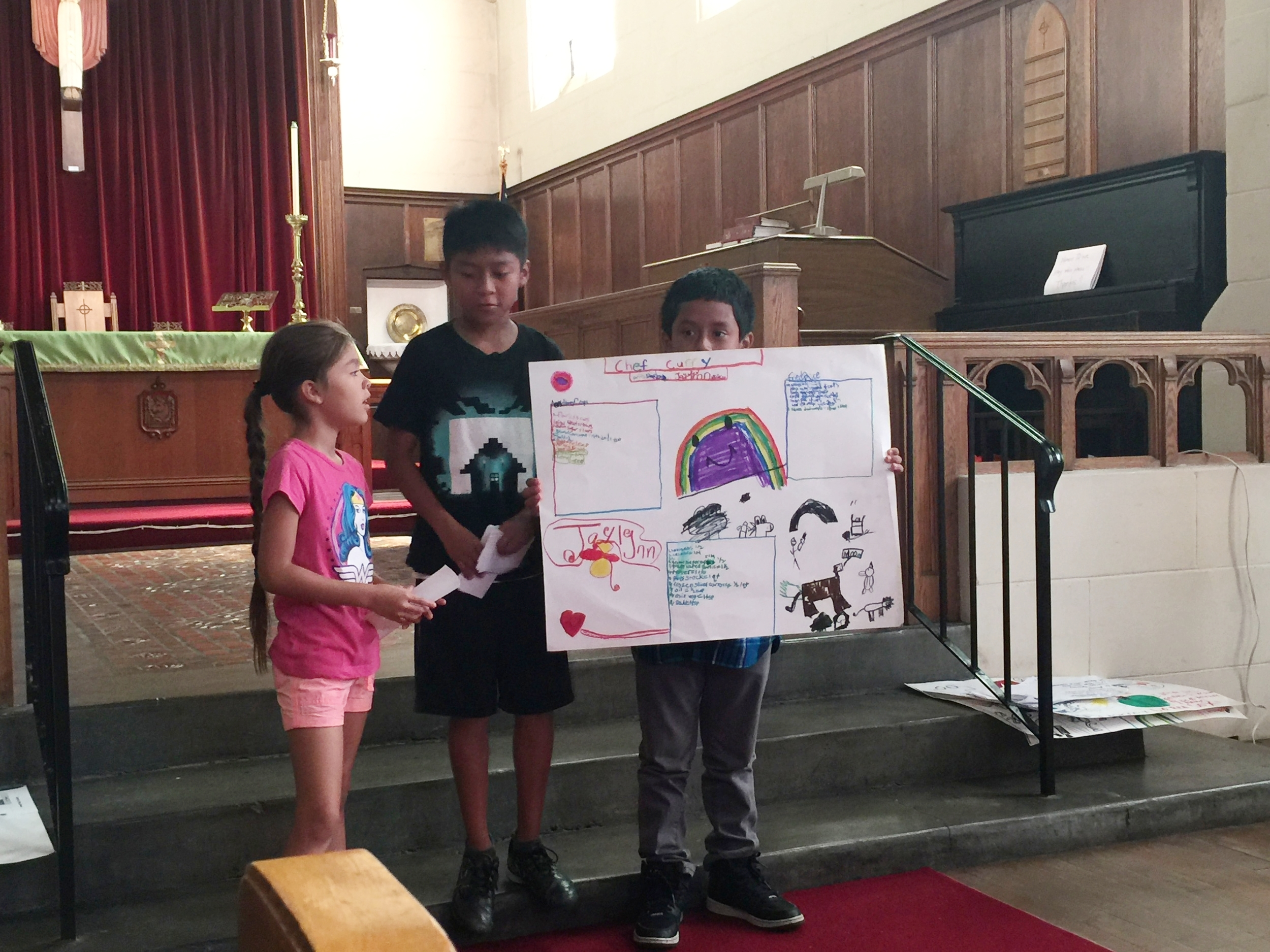 Kids use math to present what a great future looks like for them.