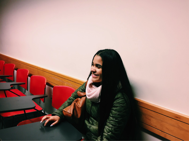 """""""Knowing that I have that opportunity with the JCIT program to visit colleges like Tufts not only gives me reassurance but also a guarantee that college is the place for me. GO JUMBOS!"""" - Alicia (JCIT, 10th grade)"""