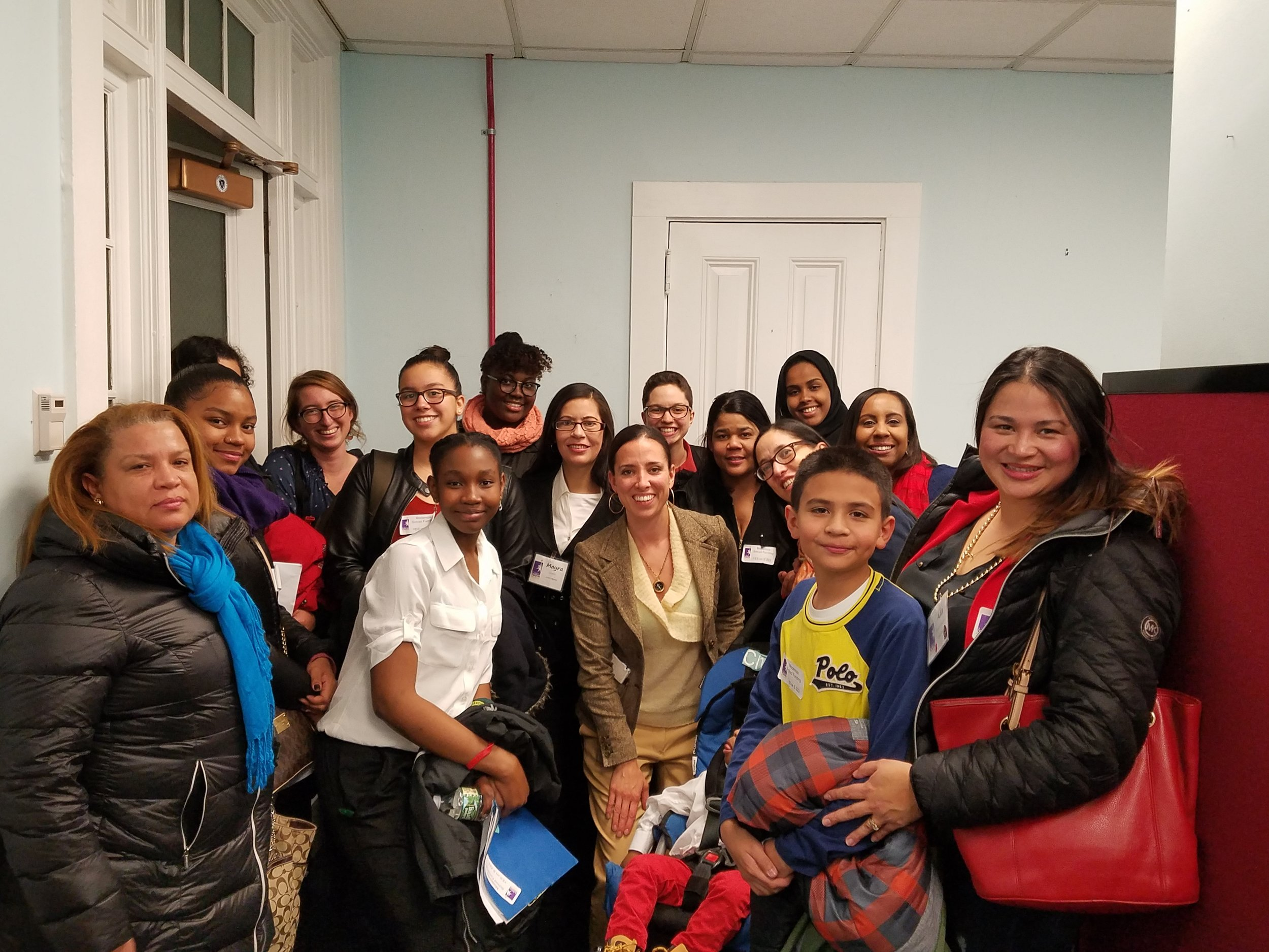 PHOTO: Intergenerational Organizing team meeting with State Senator Sonia Chang Diaz, author of the Bill to Modernize the Foundation Budget for the 21st Century