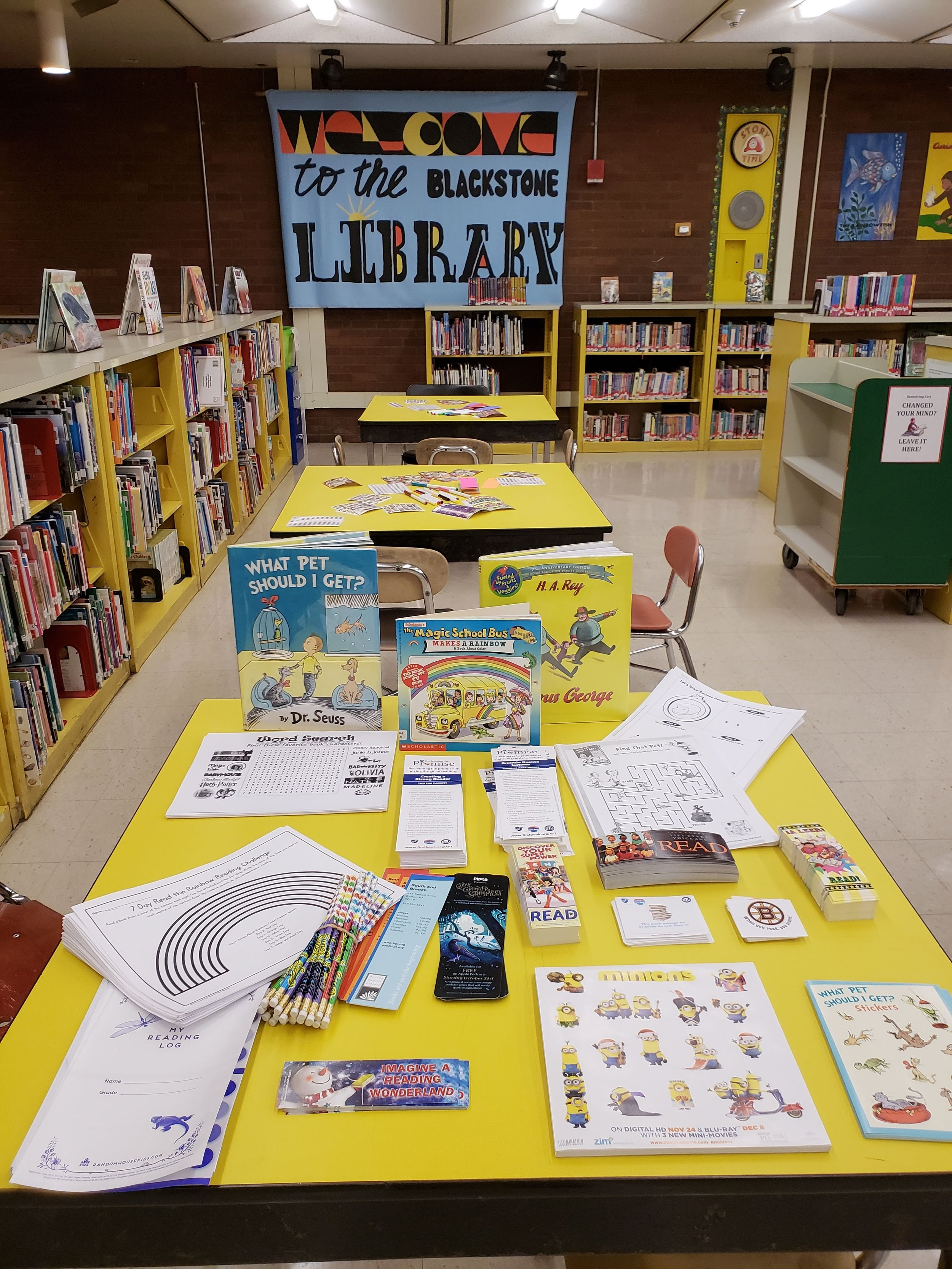 Literacy Night activities for students and families
