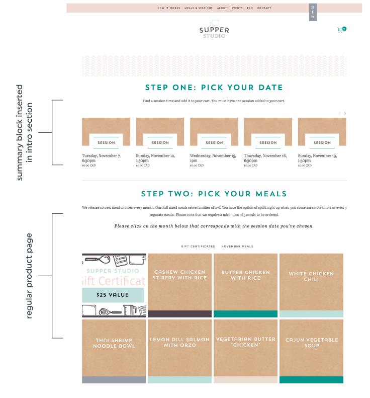 5 ways to use a summary block on Squarespace