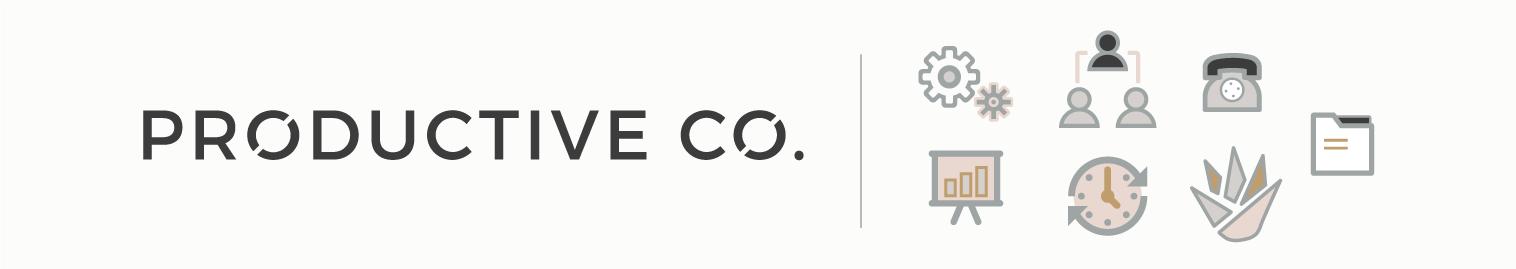 Productive Co. Branding Refresh Design on Little Dot Creative