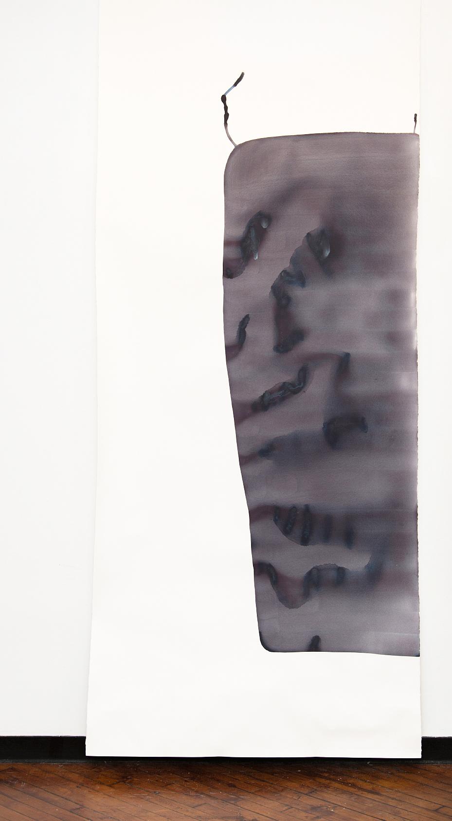 """Dekalb   watercolor on paper 121"""" x 51"""""""