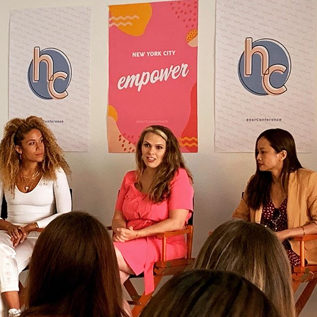 It was an honor to speak at @herconference on a panel about working in social impact. The theme for this conference was empowerment and the power of the college women in the audience could run NYC. I was asked lots of great questions during and after the panel and I'm sharing my answers in stories. Thanks for having me @hercampus #herconference