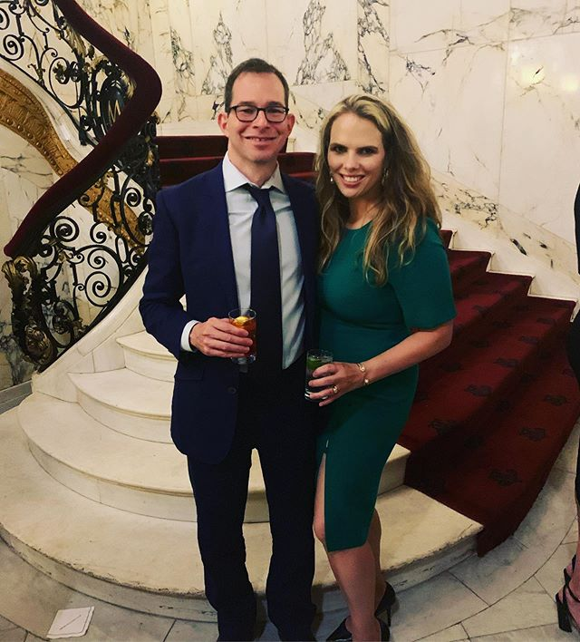 #TBT to last week when this guy was my date to the @bbrfoundation Scientific Council dinner. They fund researchers who are creating an improving treatments for@mental illness. So basically, rock stars! #mentalillness #science #datenight