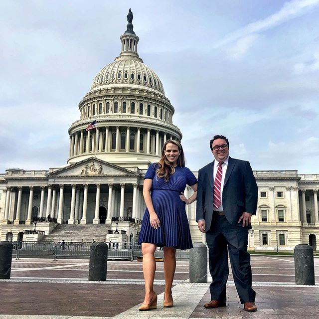 It was a pinch me day on the hill as my amazing colleague Shawn, @gloverparkgroup, and I met with House and Senate staff to talk about @crisistextline and how we can get #741741 on the back of student ID cards. Much more to come about this no brainer bipartisan bill that would improve mental health on campus. #741741 #advocacy #bettercallshawn #howabillbecomesalaw