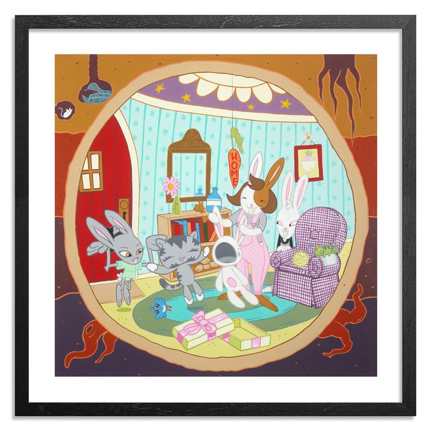 """The Gift"" (The Origins of BunnyKitty, 2014)"