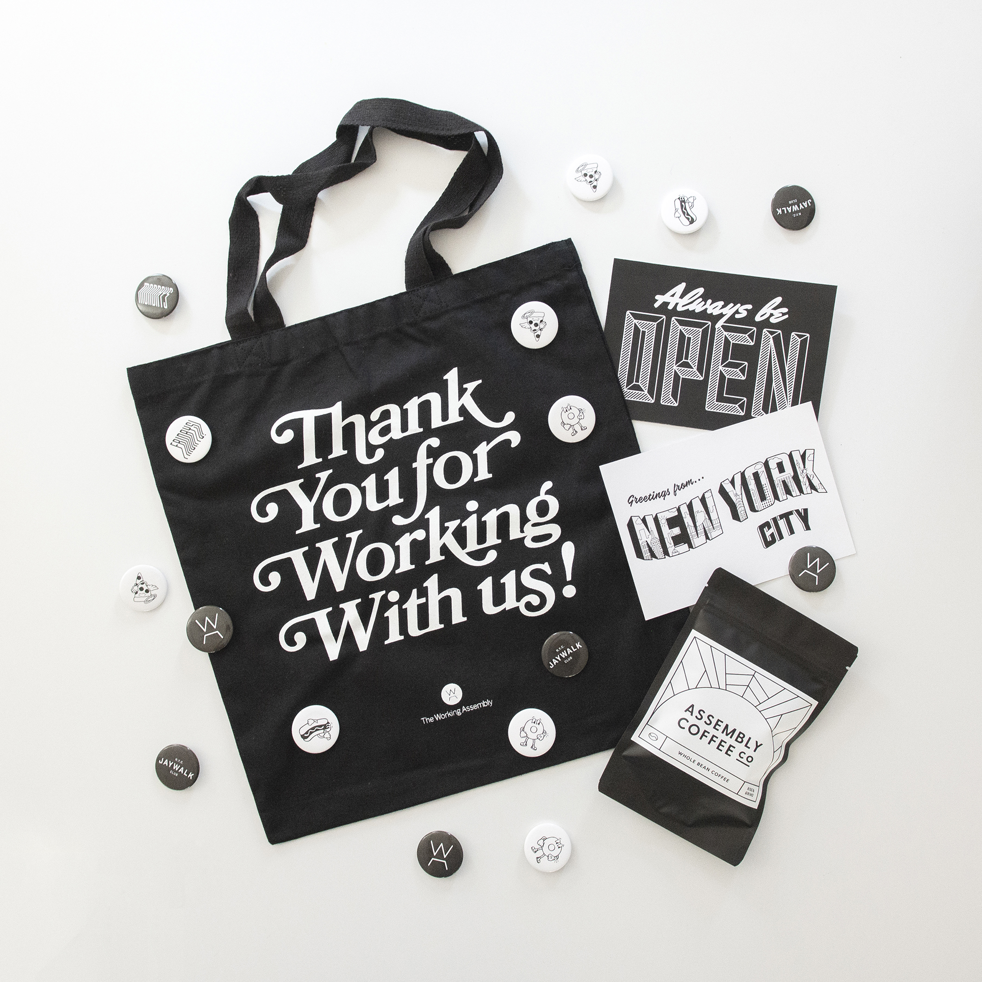 The Working Assembly Swag // theworkingassembly.com