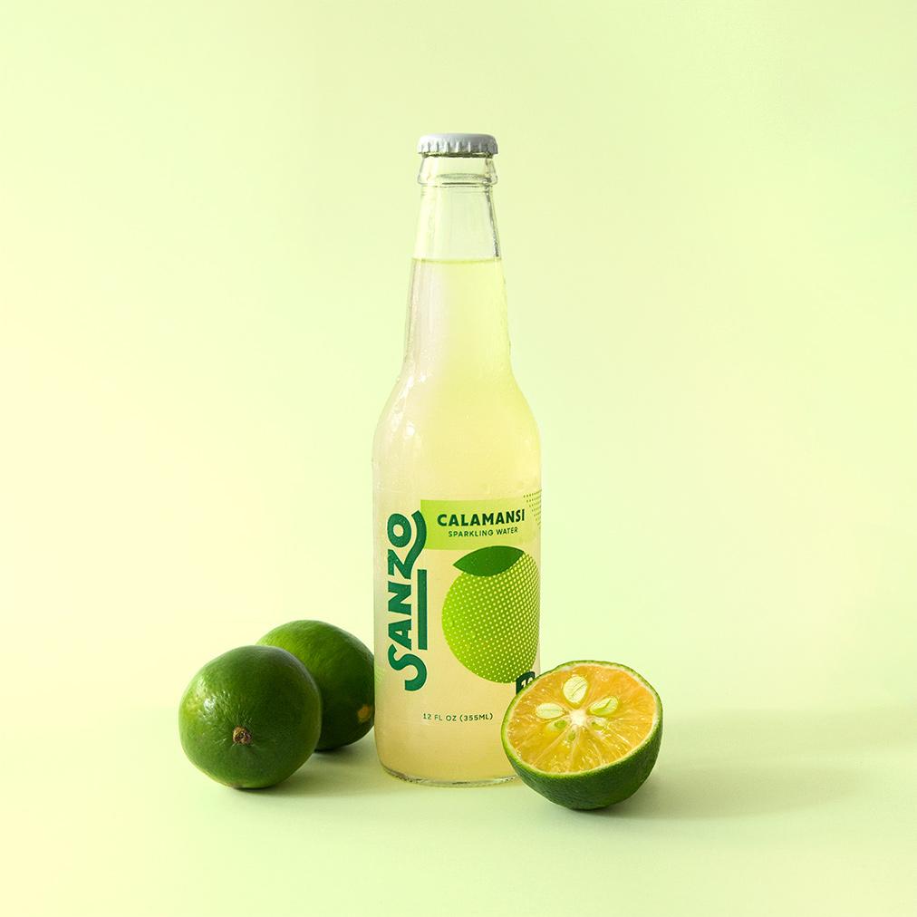 Sanzo Sparkling Water // drinksanzo.com