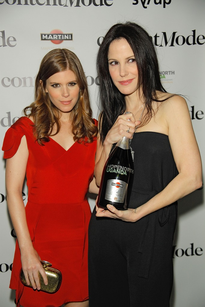 Kate Mara and Mary-Louise Parker Toast Hope North