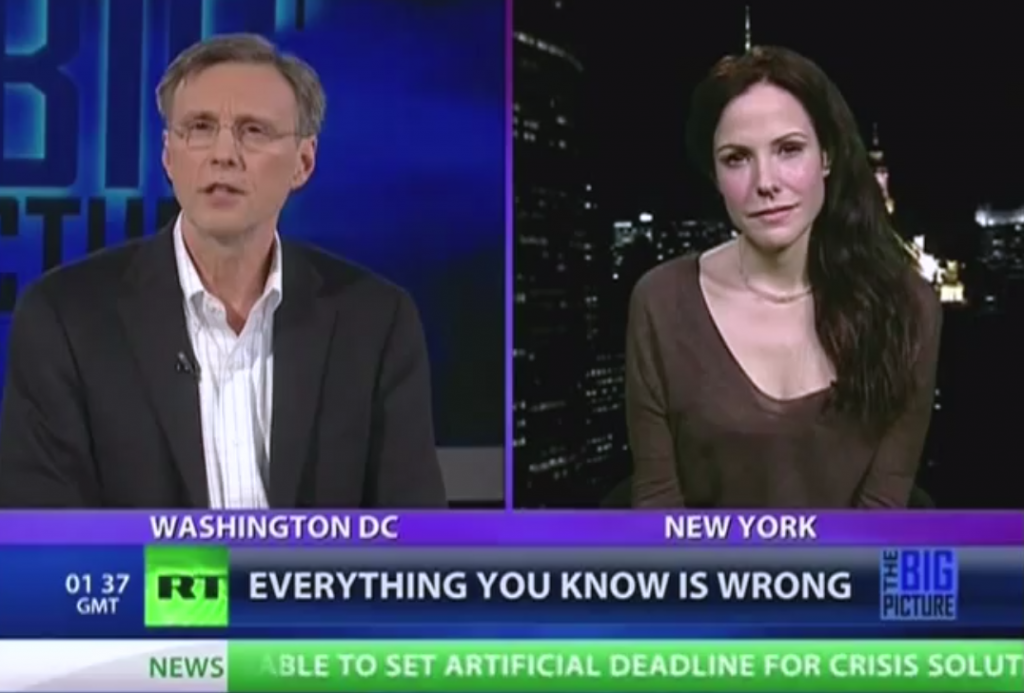 Mary-Louise Parker talk about Hope North on the Thom Hartmann Show