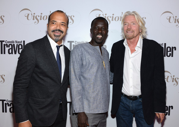 Okello Sam with Jeffrey Wright and Richard Branson at Conde Nast Traveller's Visionary Awards Gala.jpg