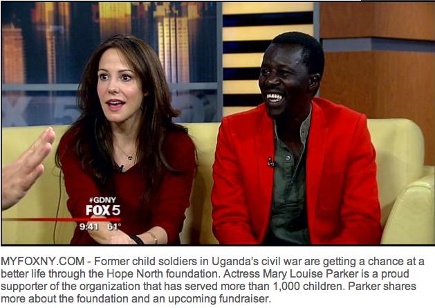 Mary-Louise Parker and Okello Sam on My Fox NY.png
