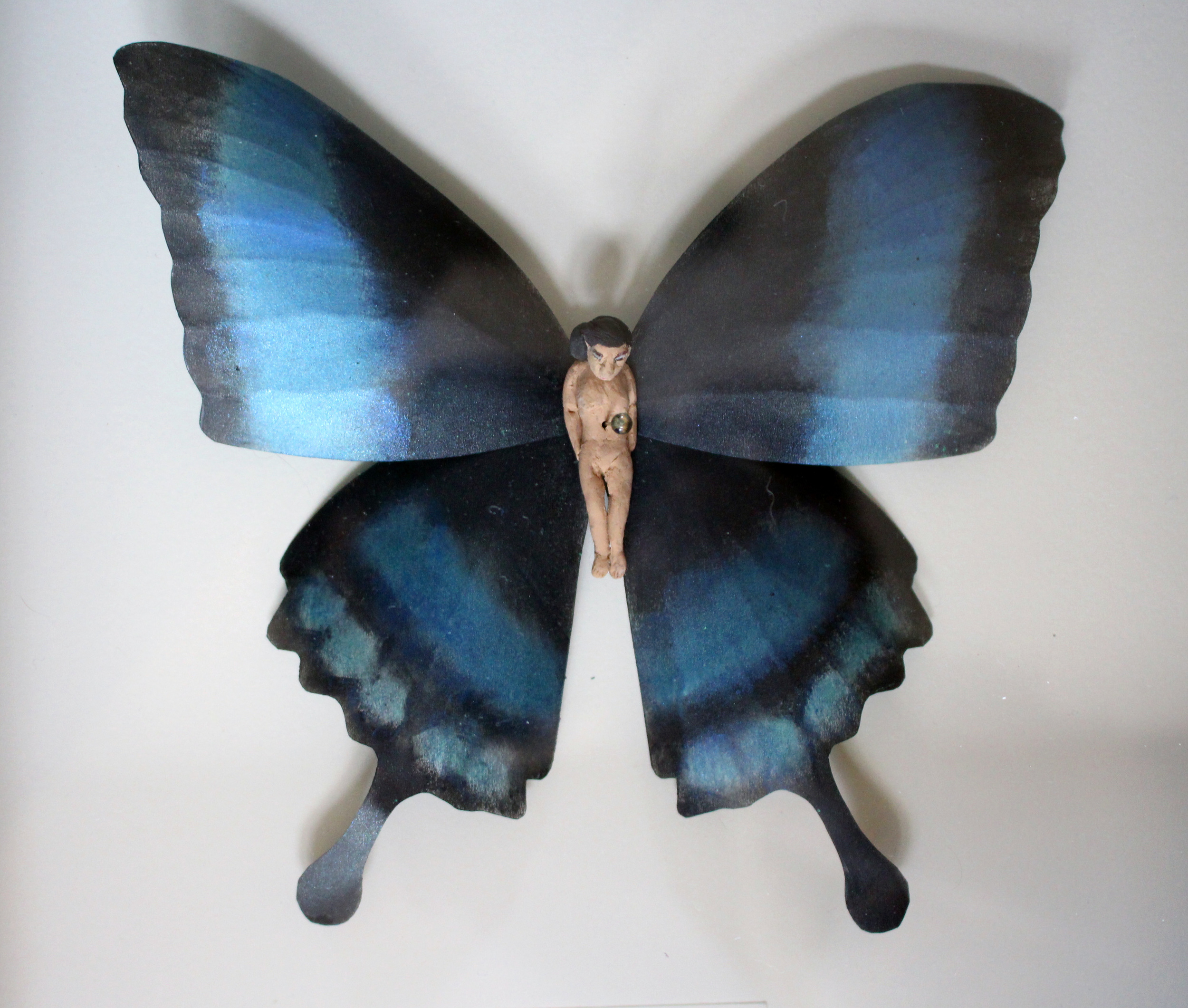 Entomology of a Developing Feminist (Papilio palinurus Detail)