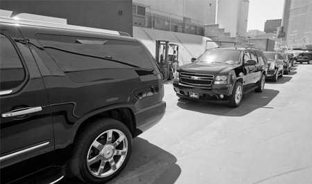 Multiple vehicle options for business travelers