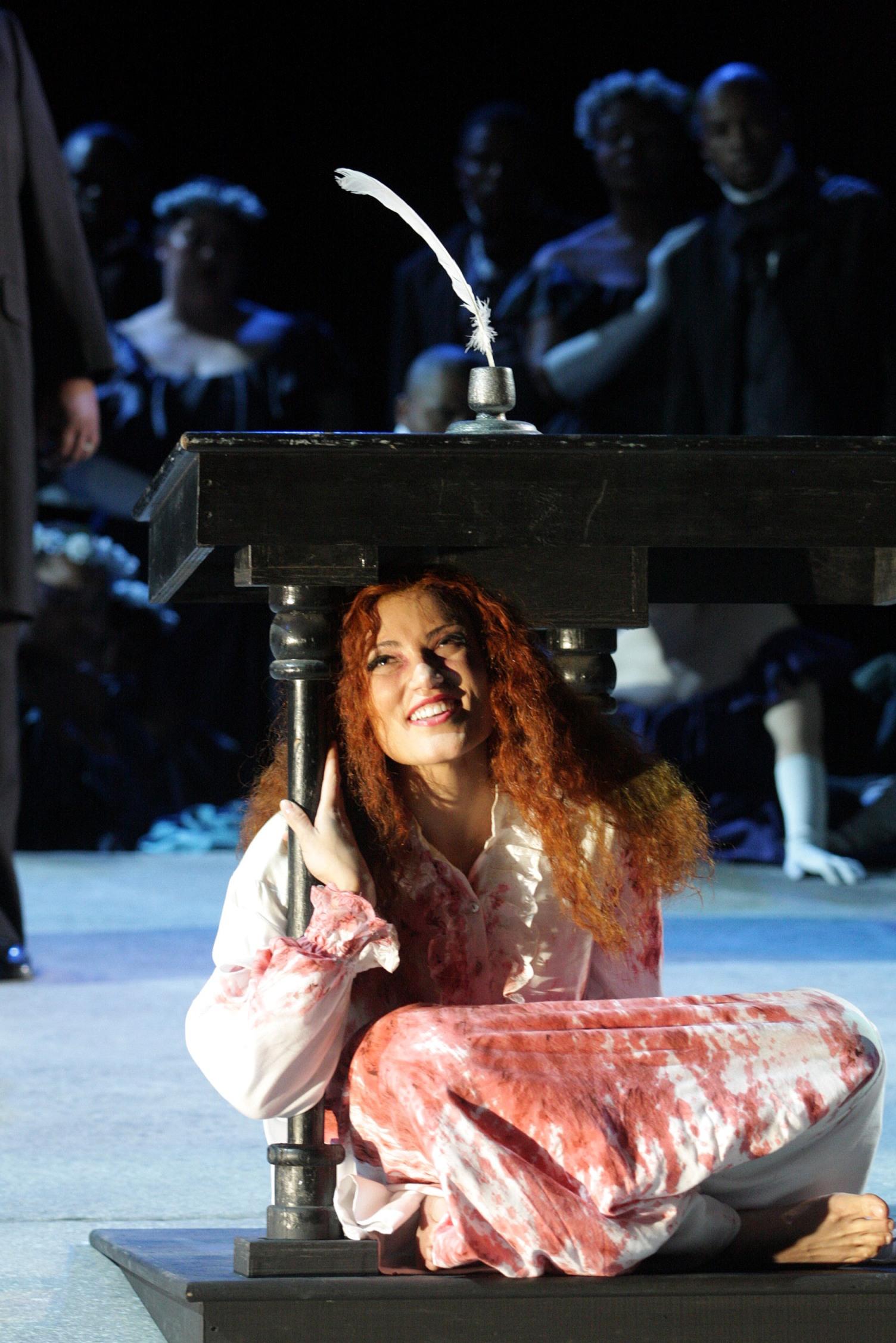 Lucia di Lammermoor -  Bronwen Forbay Cape Town Opera
