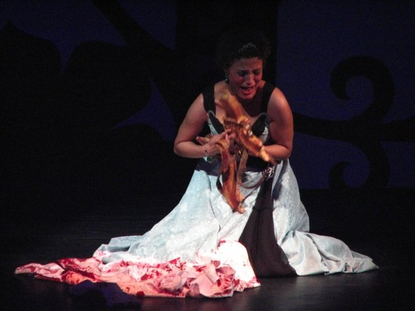 Orasia, Queen of Thrace - Bronwen Forbay  Orpheus (Telemann) - American Premier Wolf Trap Opera Company