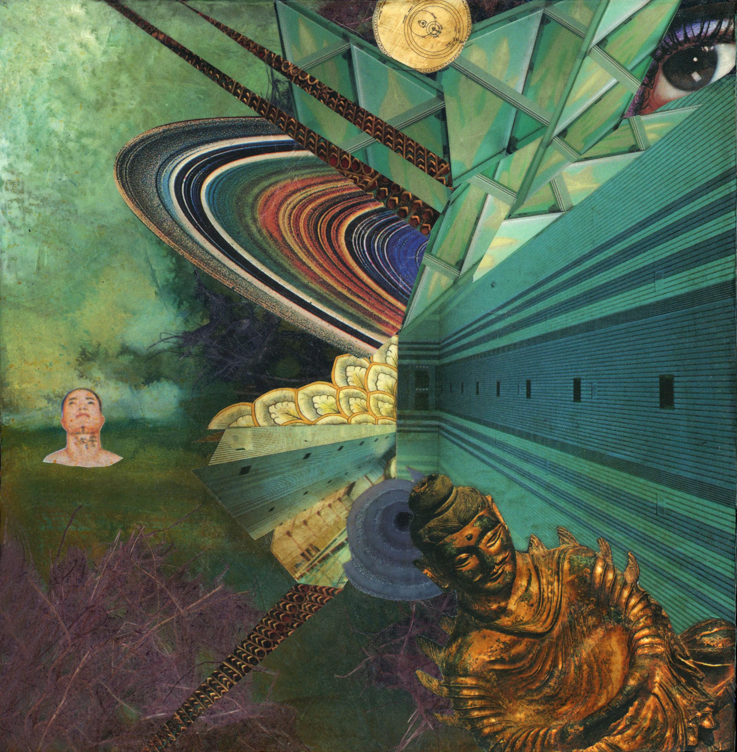 Cosmic Buddha  (Original 10 x 10)   ORDER
