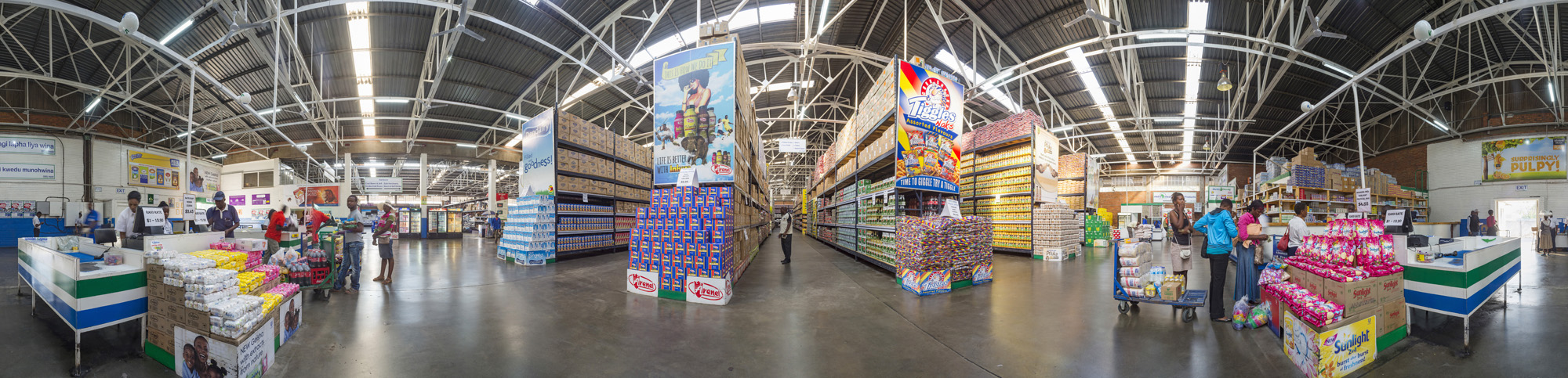 A 360 degree panoramic of Chiredzi store.