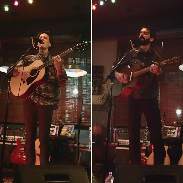 Tall ass songwriter night in Providence last night. Thanks to @grangeri and @pvdlive for having us play! If you get a chance to hear @johnfaraone sing you something, you better do it! Hudson NY tonight at @orgalleryandtavern! See you there! Photo stolen from @goodrichrunning