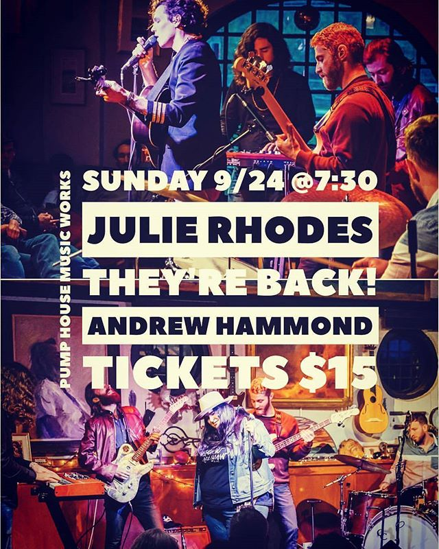 So I'm pretty sure I'm in love with Rhode Island. I'm not sure if human on state love is still a taboo or who gets the last name if we get married but Andrew Island does have a ring to it.  This Sunday we're heading back to one of my favorite venues @pumphousemusicworks.  Share some RI with us and @julie.rhodes and I will share some music. Deal?