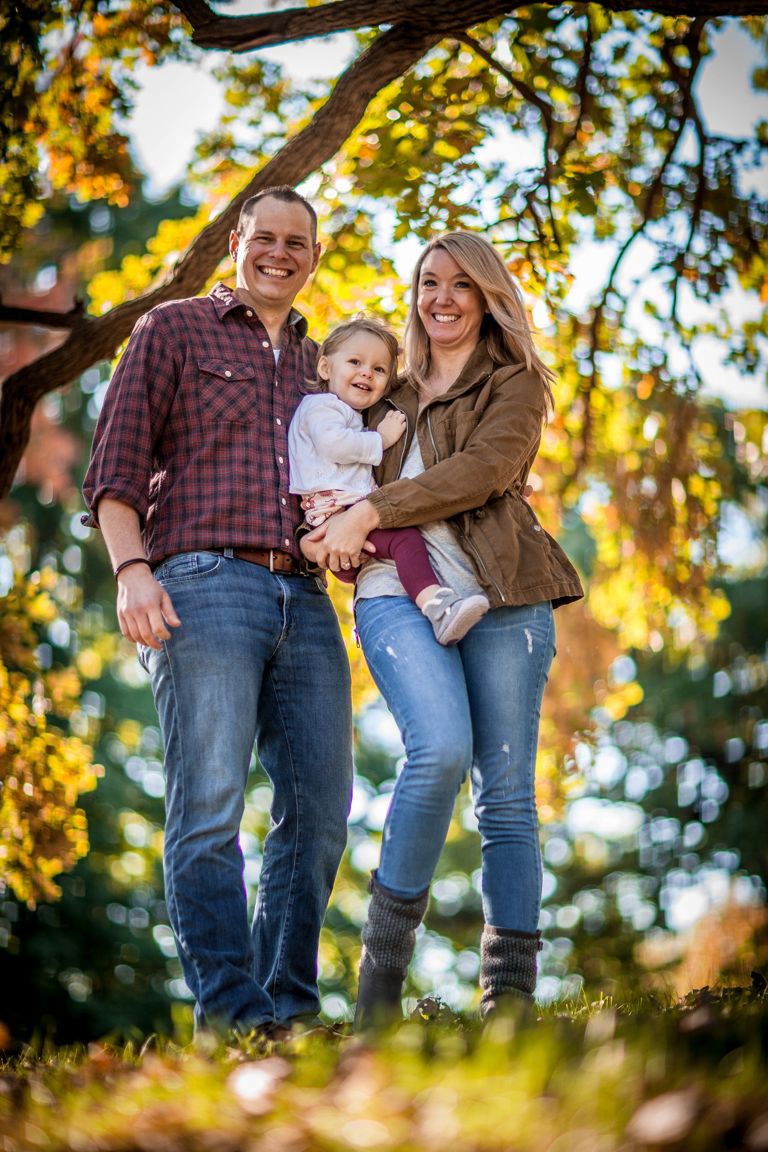 fall family photographer chicago