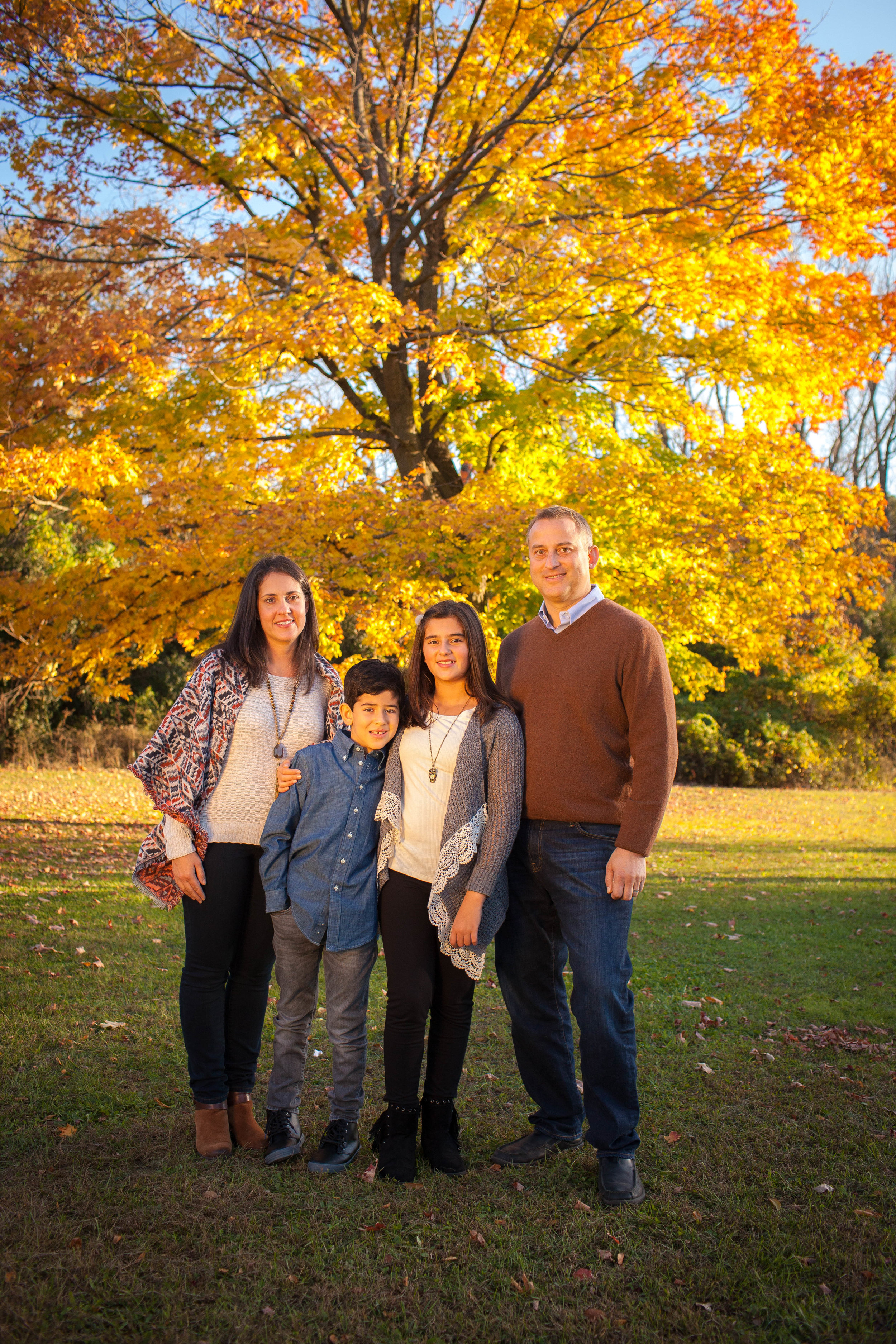 Fall Family Photography in Schaumburg