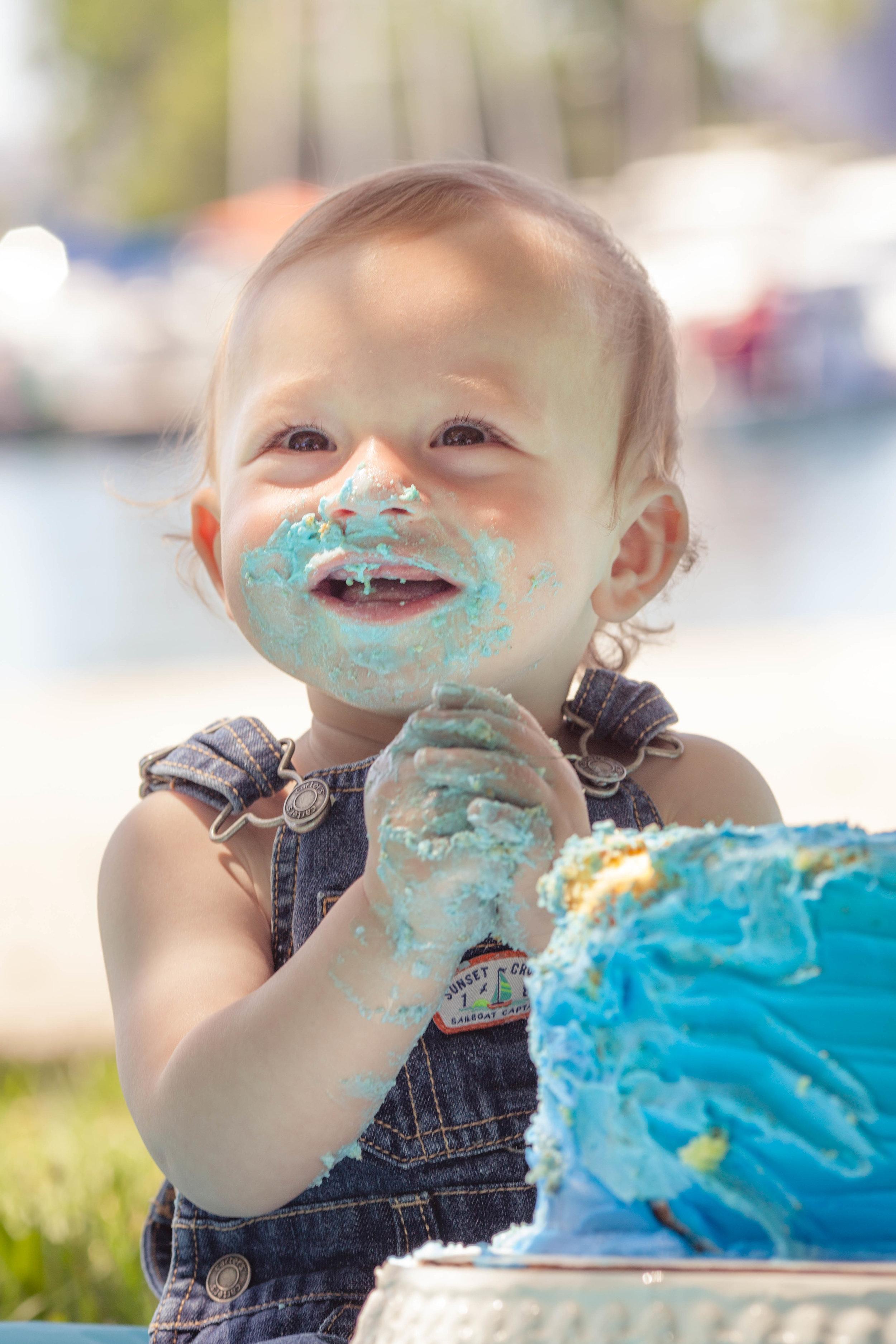 Montrose Beach Cake Smash