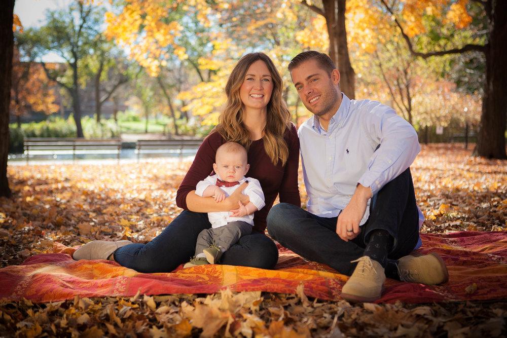 chicago fall family photos