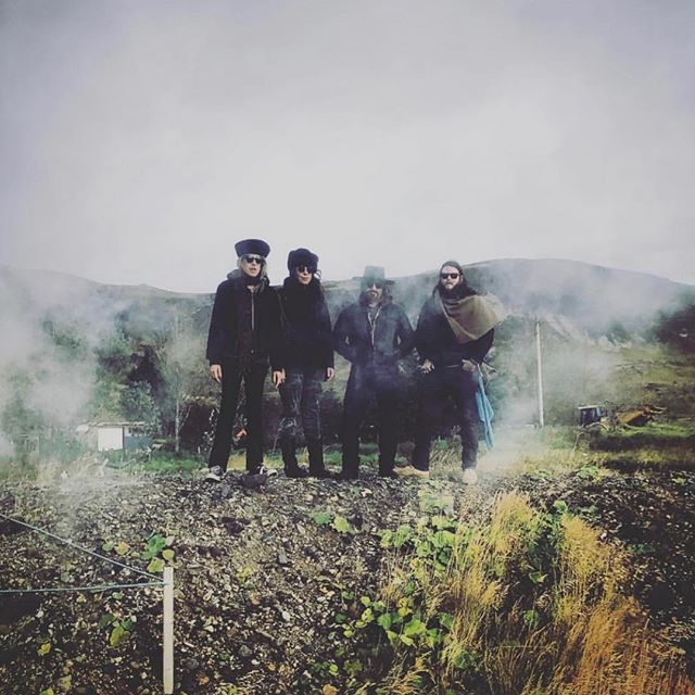 Gettin the band back together This Saturday @perisfairfax  4/20 w @psdspband !!! . We open the show at 9! 📷 @haus.of.schick -Iceland #psychrock #psychedelic #iceland #hotsprings #takemethere