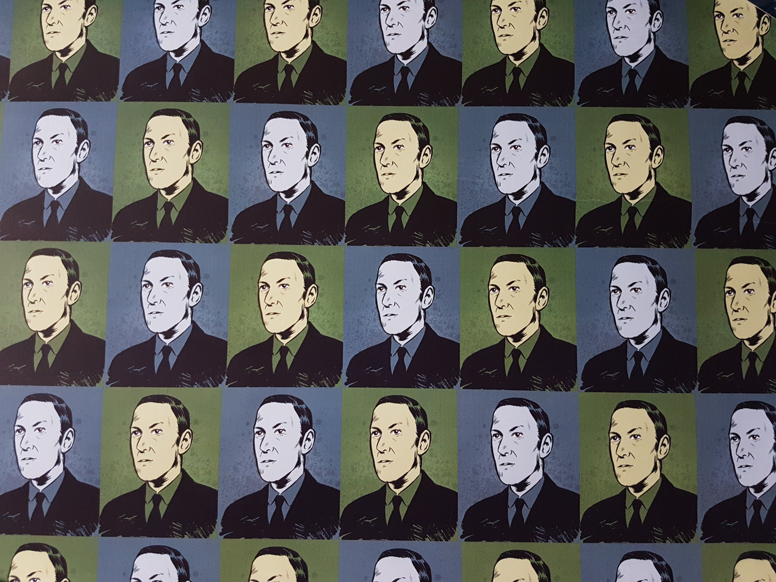 H.P Lovecraft Classic Wrapping Paper