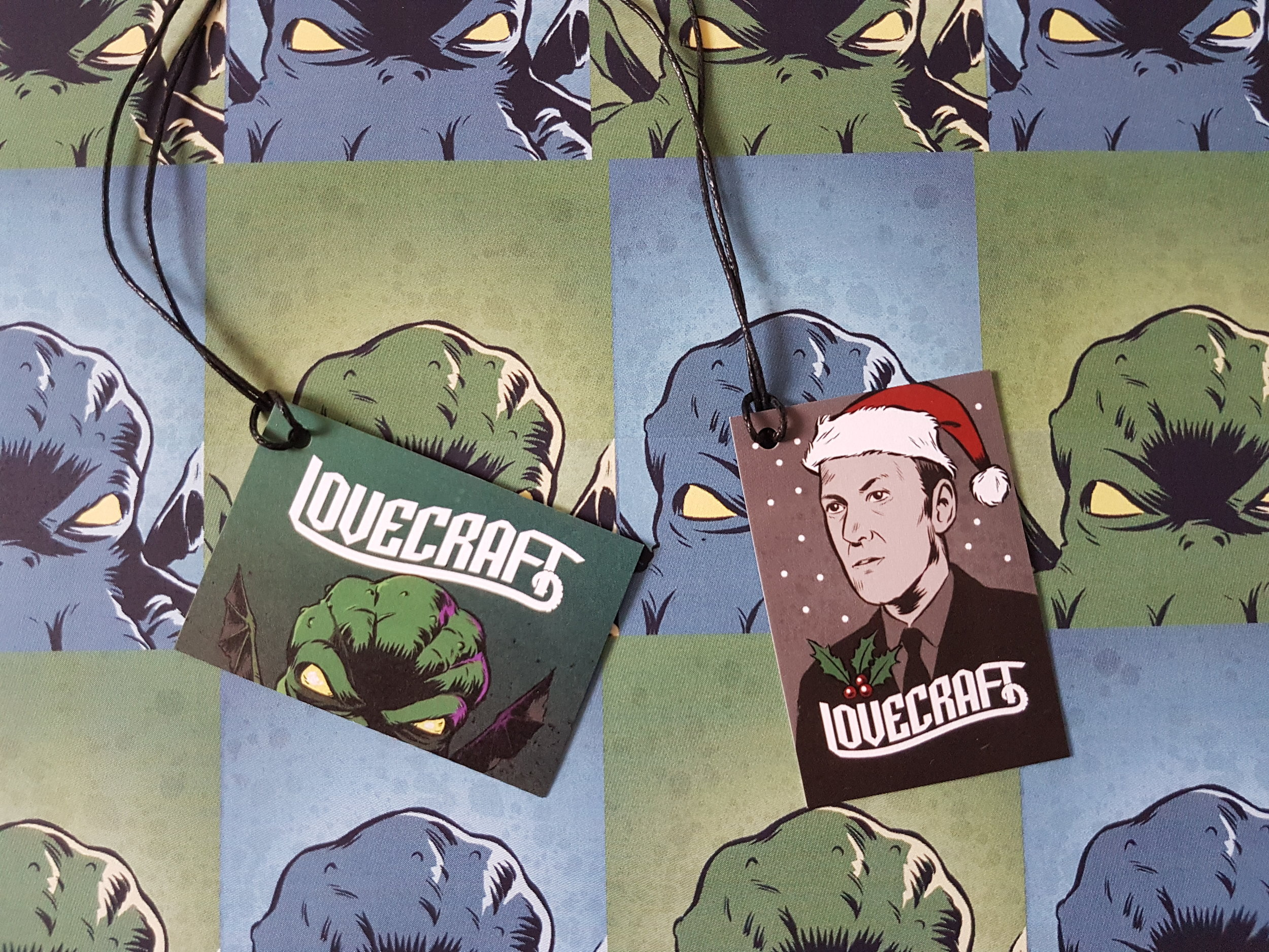 The gift tags
