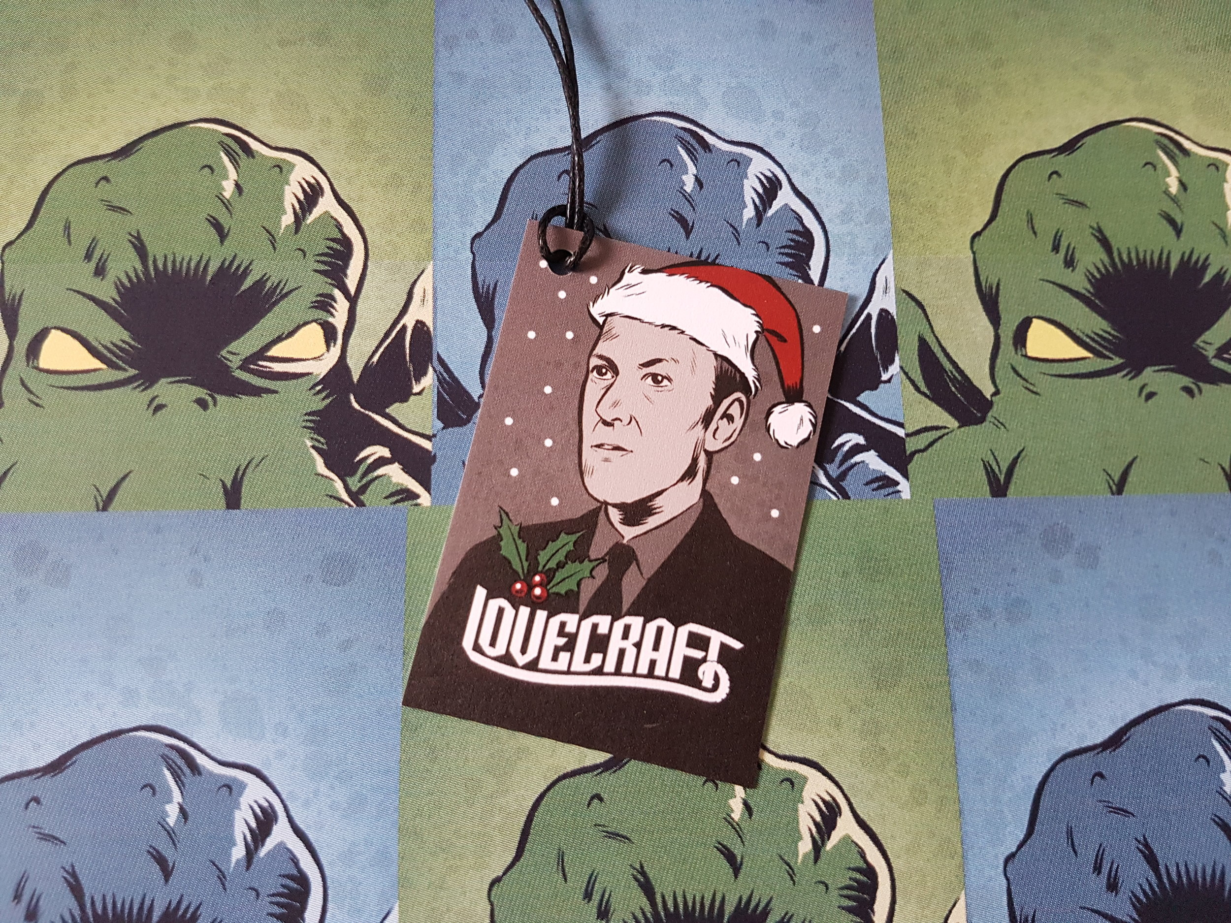 Lovecraft gift tag