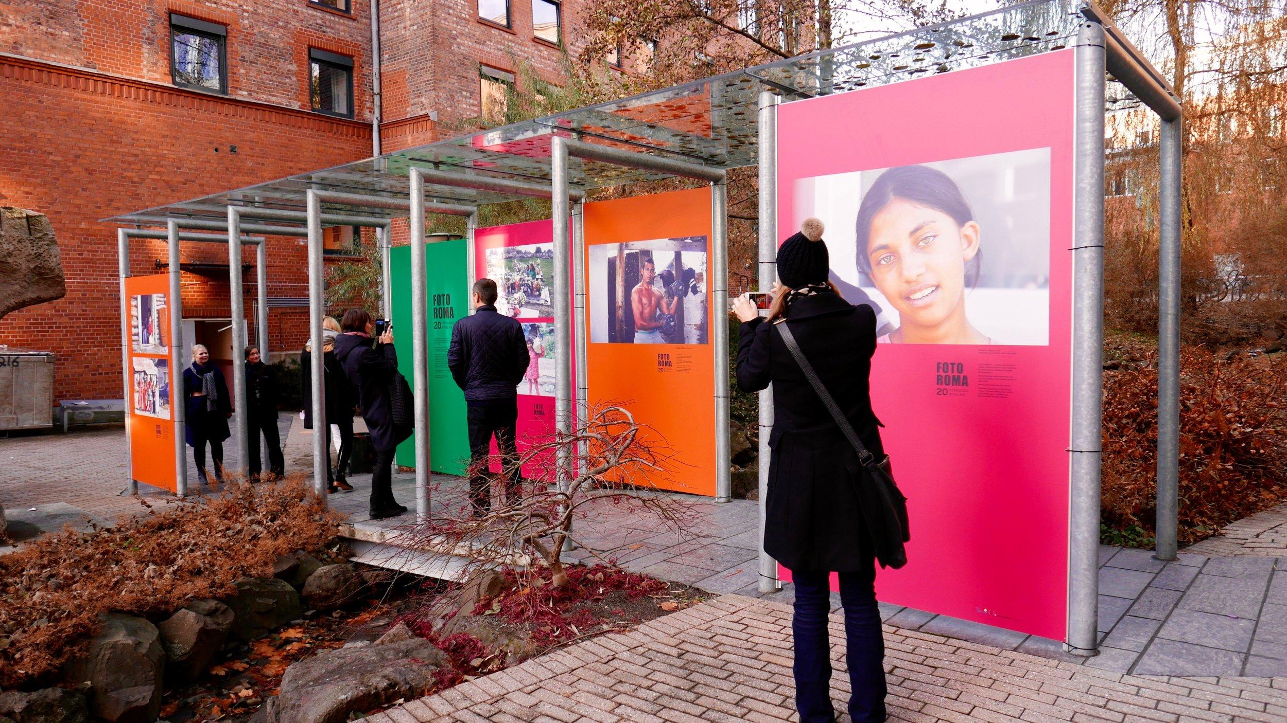 Fra utstillingen på Høgskolen i Oslo og Akershus.