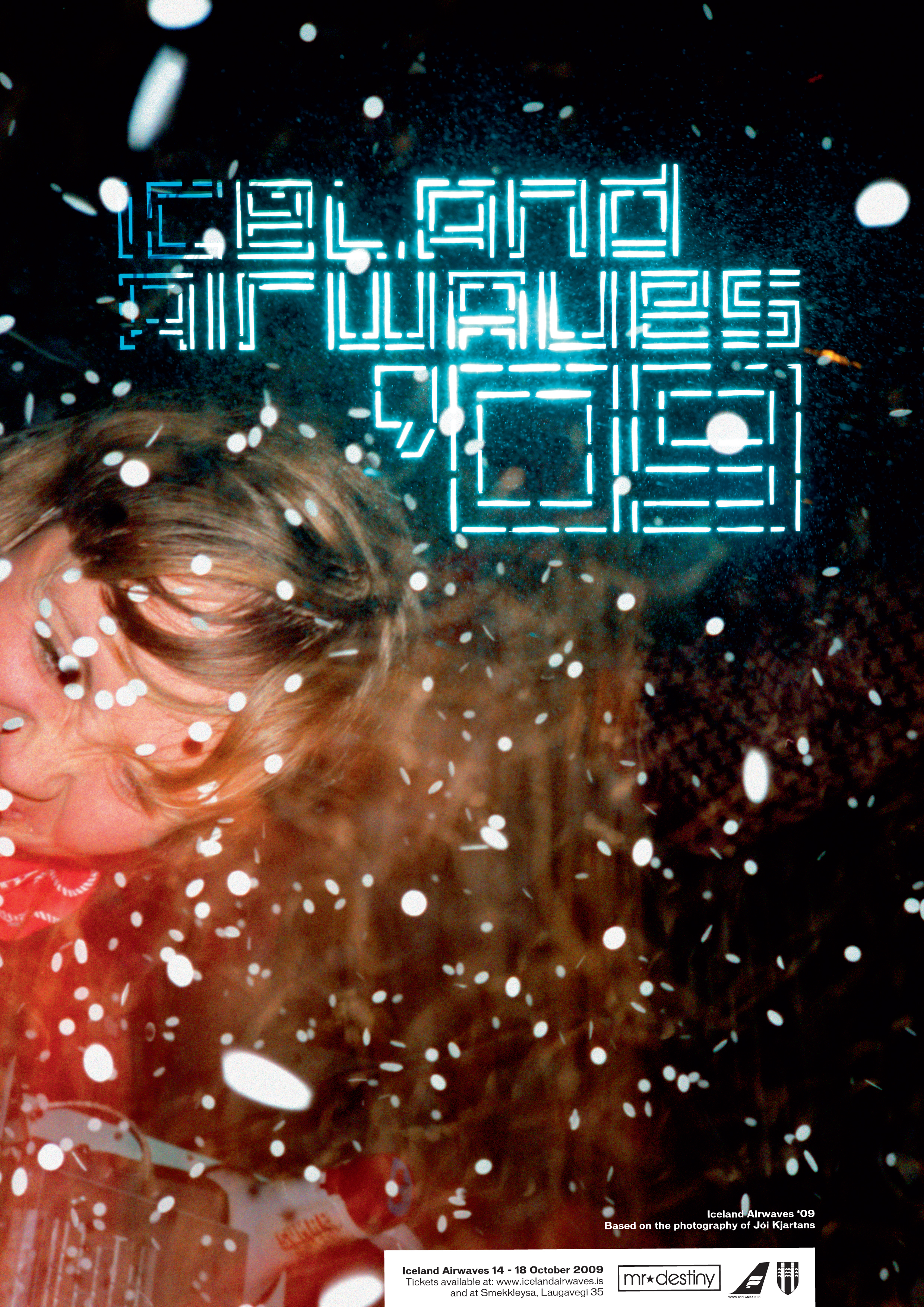iceland airwaves '09 poster