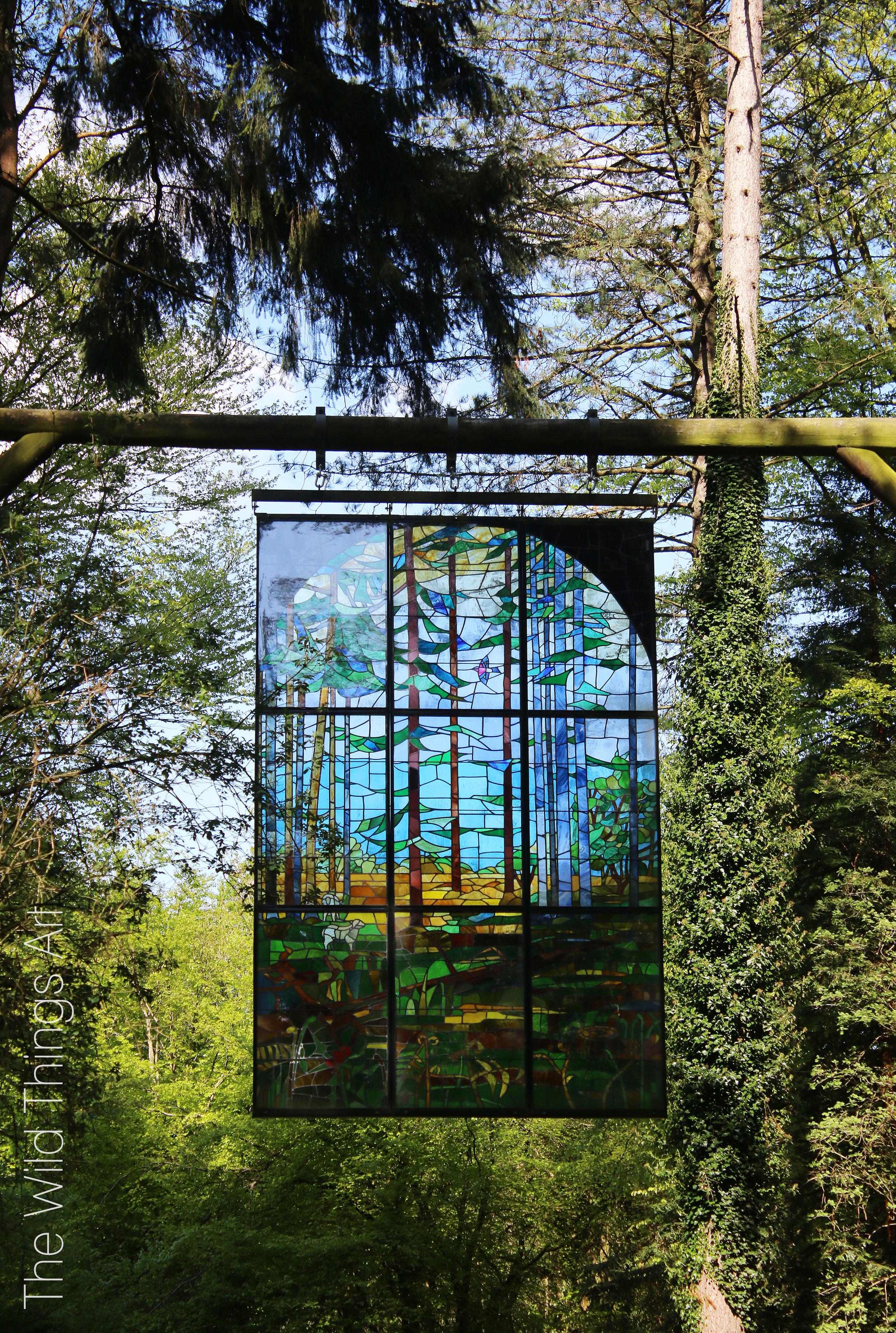 The sculpture trail, Beechenhurst, The Forest of Dean