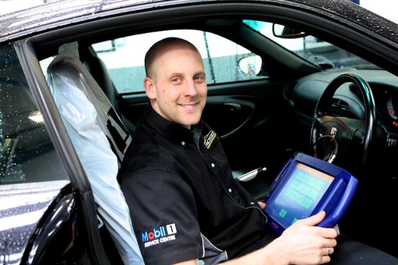 Jonny Harle, owner of Precision Porsche