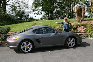Precision Porsche Cayman for sale