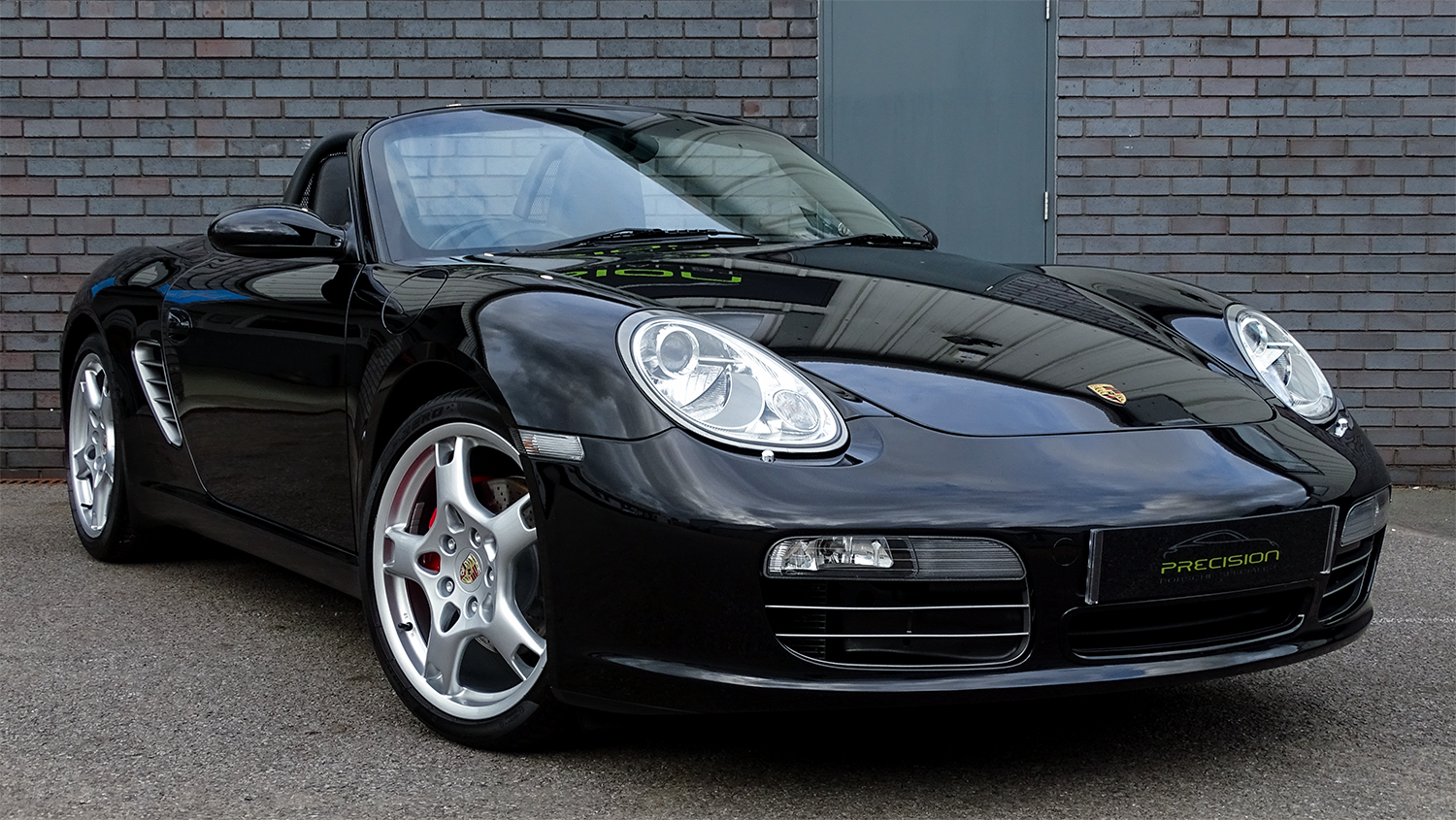 Porsche Boxster S - Colour: Basalt BlackInterior: Black LeatherYear: 2005Mileage: 42,700Engine: 3.4 LitreTransmission: 6-Speed ManualBody Style: Cabriolet (987)Fuel: PetrolDrivetrain: 2 wheel drive
