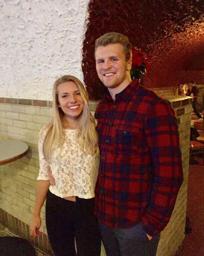 Eric and his girlfriend. Image from Instagram