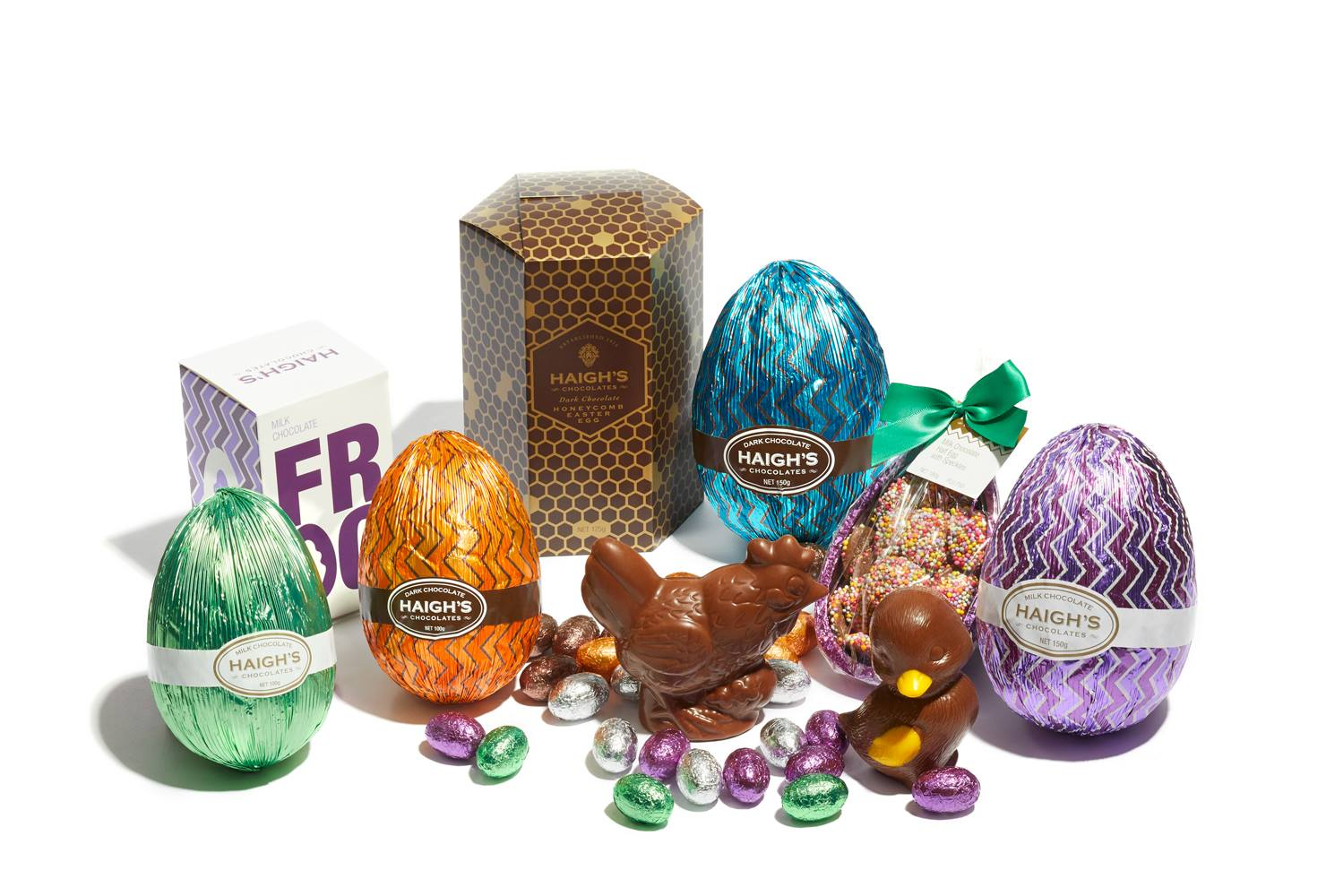 A selection of Easter treats from  Haigh's Chocolates
