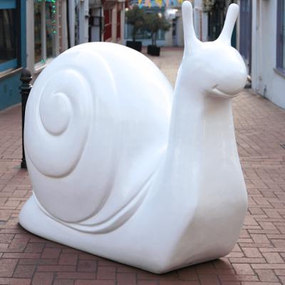 A blank snail, image © Snailspace