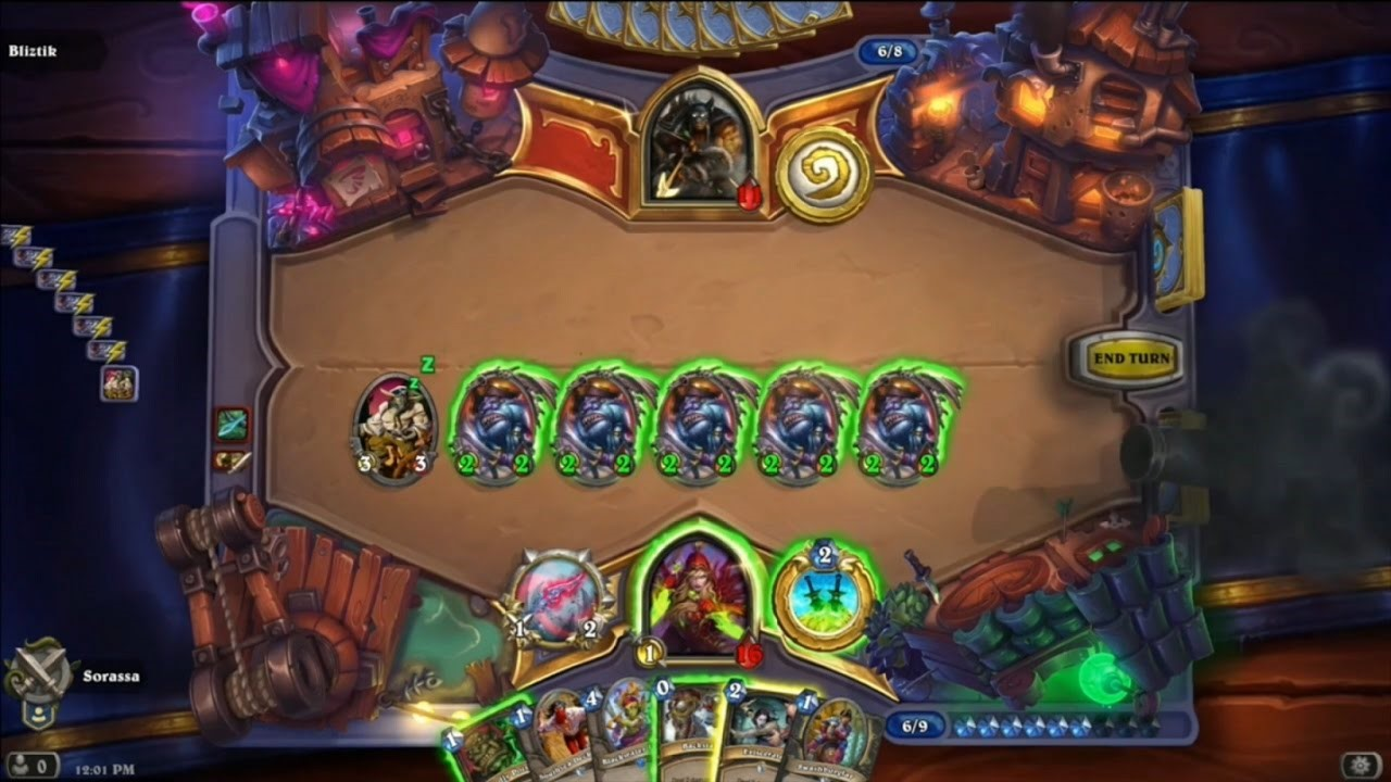 I'm not sure there was ever a time when I was  not  playing Hearthstone...