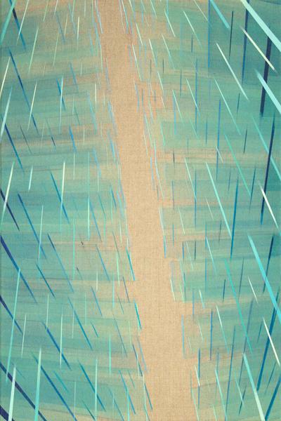 Labyrinth 40x60cm, 2016 Acrylic on canvas                                                                         Labyrinth 60x40cm, 2016 Acrylic on canvas