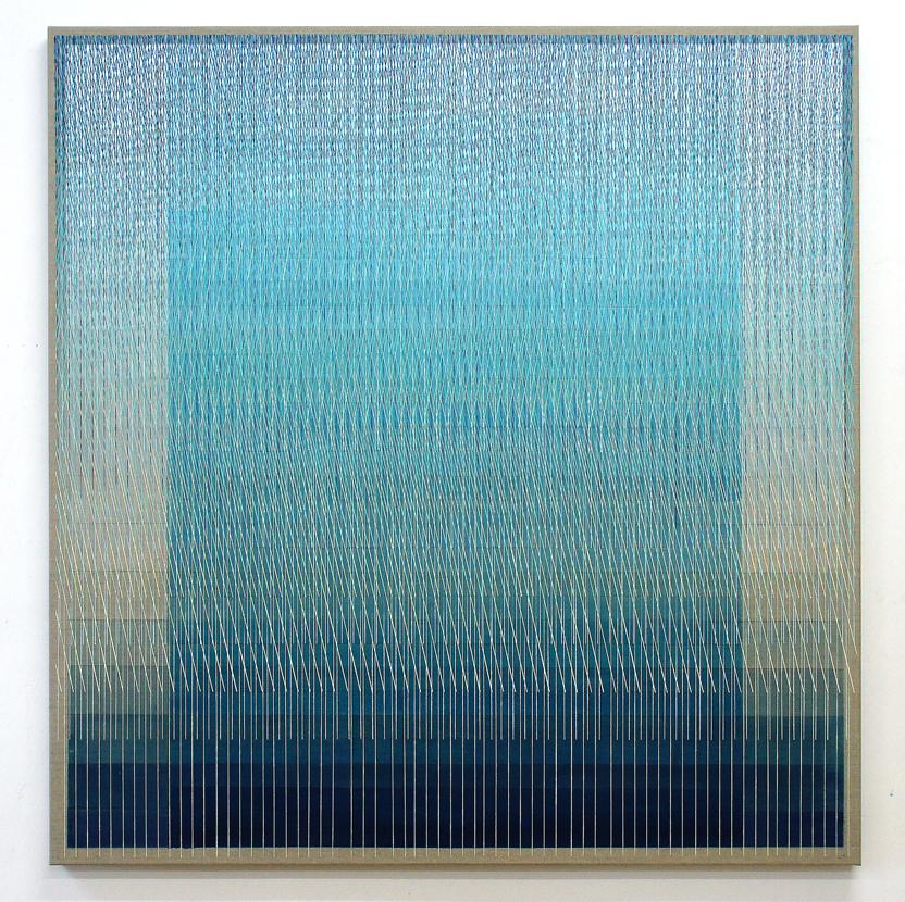 Monument Rising 140x135cm, 2016 Acrylic on canvas