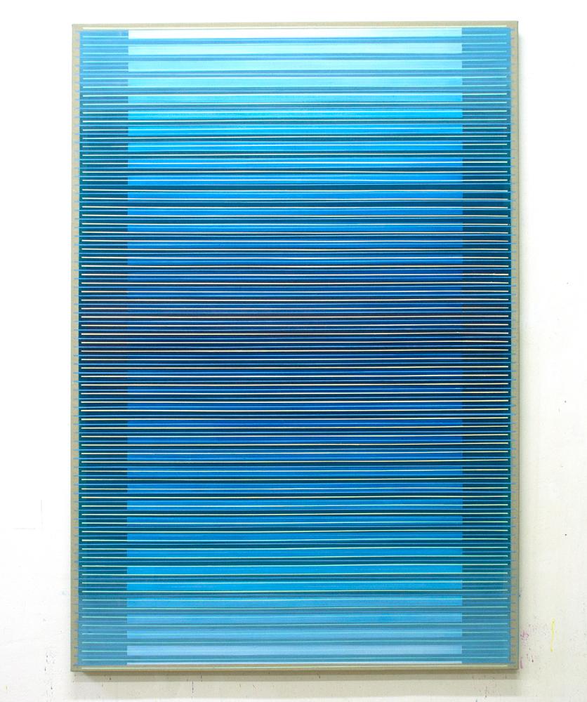 Undefined Horizon 160x110cm,2017 Acrylic on canvas