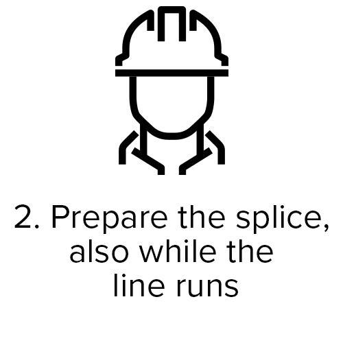 Prepare the splice
